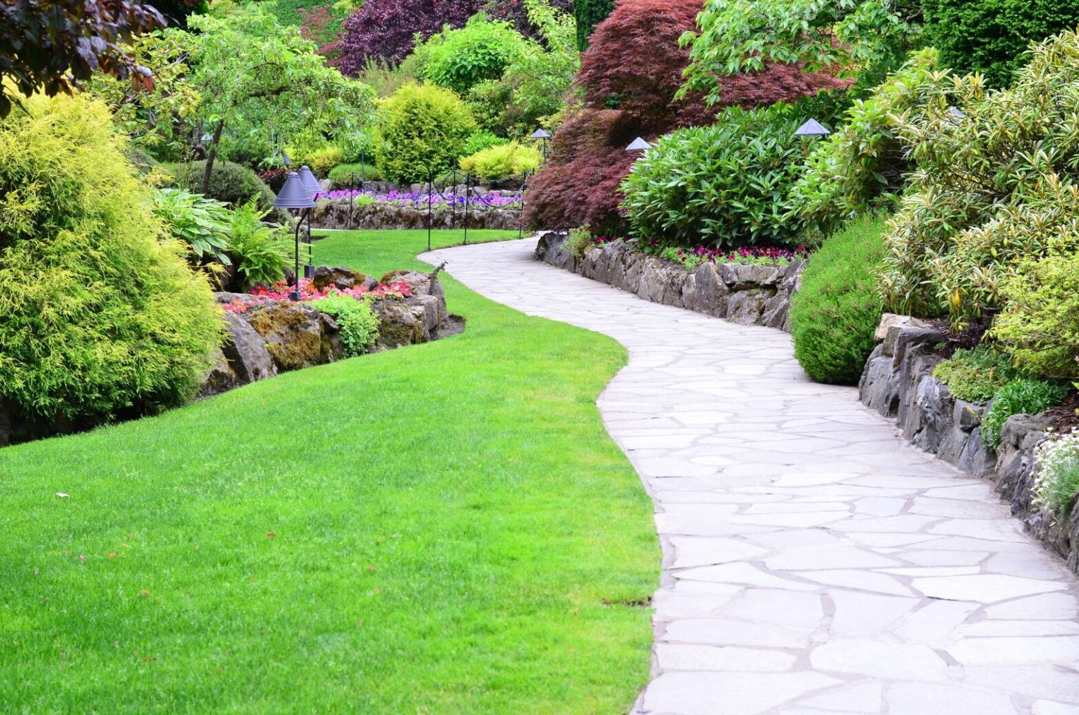 chemin dans le jardin